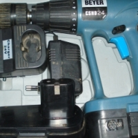 BEYER 24v Cordless heavy duty Hammerdrill and Screwdriver