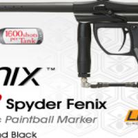 NEW SPYDER FENIX PAINTBALL GUN