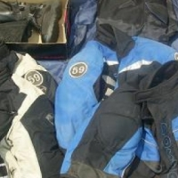 VARIOUS MOTORCYCLE GEAR