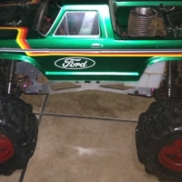 Nitro HPI Savage 4x4 for sale