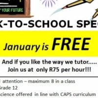 FREE Tuition for month January 2016