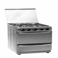 4 Plate Gas Stove - Stainless Steel