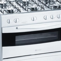 6 Plate Gas Stove (White)