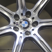 "20"" BMW PERFORMANCE MAGS WITH PIRELLI TYRES 80% TREAD"