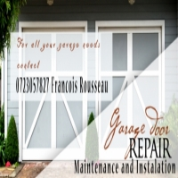 Garage door repairs maintenance and installations