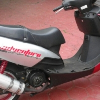 motorbike for sale with helmet and jacket