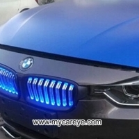 Car auto ABS Front Grill led light front grille for BMW 3-Series F30 F31 F35 bumper Lights