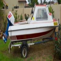 Boat - Sportman's Cabin Cruiser