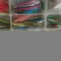 Box of Fishing Lures For Sale