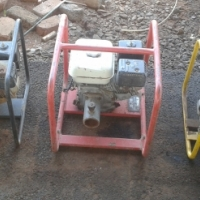 Petrol motors with pumps x 7 for sale at reduced price