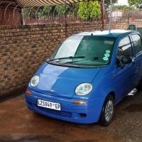 Hi I have a 2000 model daewoo martiz
