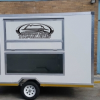 Mobile Food Trailers, Bike Trailers, Office Trailers all on special