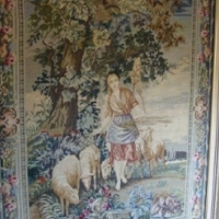 Absolutely stunning framed Tapestry 1.5m X 1.2m. Price negotiable