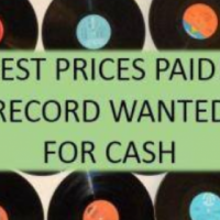 Records wanted for cash