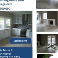 Modern home in heart of Stellenberg .