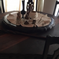 12pc Mahogany ball and claw dining room suite