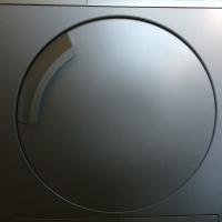 Spotless Bosch 7kg silver tumble dryer