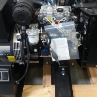10kw Single Phase 120/240 VOLT Perkins Diesel Generator Set