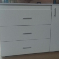 MELAMI 3-DRAW + 1 DOOR COMPACTUM