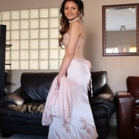 Give away price - Fabulous vintage inspired matric/wedding dress  designed / handmade