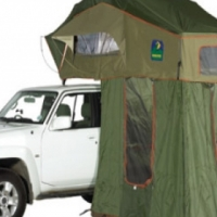 Howling Moon 1.4m Stargazer Rooftop Tent with Annex room