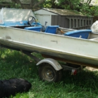fishing boat 14.5 ft yamaha 30hp engine for sale  Sandton