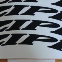 ZIPP wheel rim decals stickers graphics kits