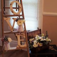 Vintage Love Love ladder