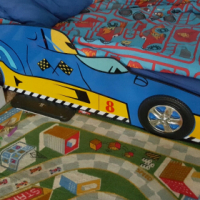 I Have a cars bed
