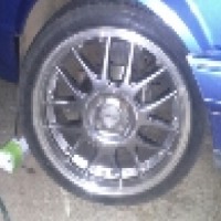 17inch mags and tyres to swop