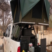 Rooftop tent frame