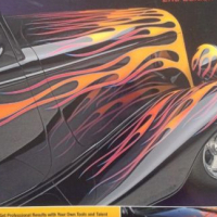 How To Paint Flames 2nd Edition - Motorbooks Workshop - Bruce Caldwell.
