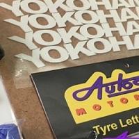 Brand Name Tyre-Lettering Kit (25mm 4pc)