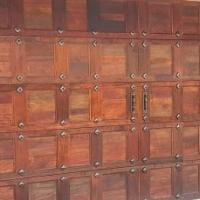 Customise A Garage Door Using Decorative Resin Studs