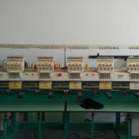 Embroidery machine 6 head
