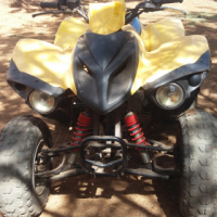 Adly 300cc 5 speed with reverse
