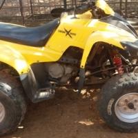 Adly 300cc quad bike