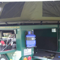 2013 4X4  Camping  trailer