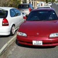 """Mx6 Mazda Coupe,  puchbutton ignition ,tinted window's, 17""""Mags, remote Sentral door locking"""