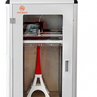Showcase your concepts, ideas, or prototypes with this awesome desktop 3D Printer