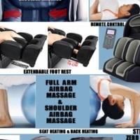FUTURER ZERO GRAVITY MASSAGE CHAIR - HUGE SPECIAL