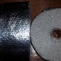 Exhaust chrome heat wrap