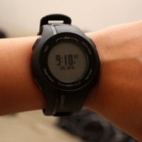 Garmin Forerunner 210 fitness watch with heart rate monitor