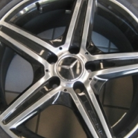 Marcedes AMG - Mag Rims With Tyres - R12,000