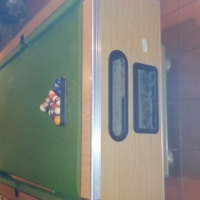 Negotiable - Pool table with slate top and all accessories and cover