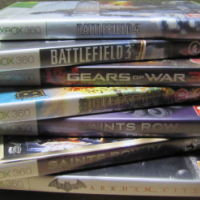 I am Selling 7 Xbox 360 Games, Tripple-A Titles
