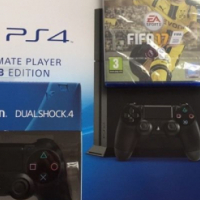 Ps4 1TB new fifa 17 with extra controller