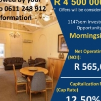 Investment Property FOR SALE Morningside offering 12,50% Return