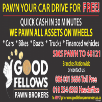 Pawn your car & drive for free