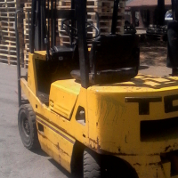Fork Lift to swop for any four door car or bakkie of its  Value,R35000.its a 2ton TCM